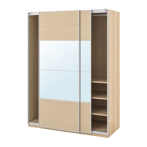 PAX Guardaroba - 150x66x201 cm, ammortizzatore - IKEA