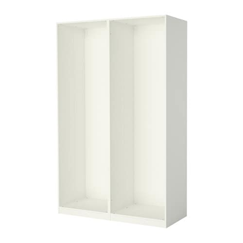 Pax 2 strutture per guardaroba bianco ikea - Armadi guardaroba ikea ...
