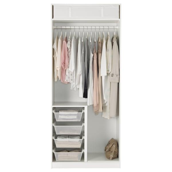 Ikea Guardaroba Pax Komplement Sistema Componibile.Pax Guardaroba Bianco Tyssedal Bianco Ikea