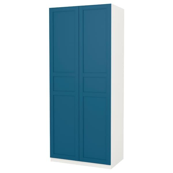 armadio 2 ante blue ikea