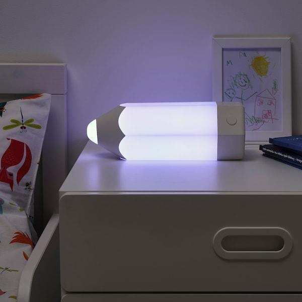 PELARBOJ Lampada da tavolo a LED, multicolore