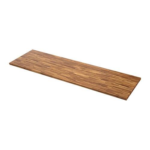 Pinnarp piano di lavoro su misura 63 6 125x3 8 cm ikea - Piano di lavoro cucina ikea ...
