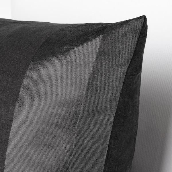 PIPRANKA Fodera per cuscino, grigio, 50x50 cm