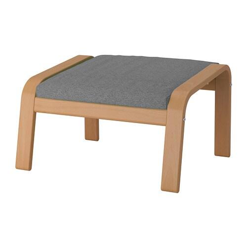 Poäng Poggiapiedi Lysed Grigio Ikea