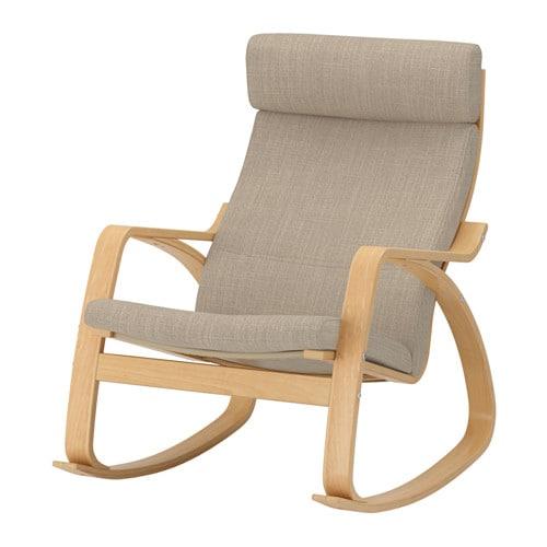 Po ng sedia a dondolo hillared beige ikea - Ikea sedie a dondolo ...