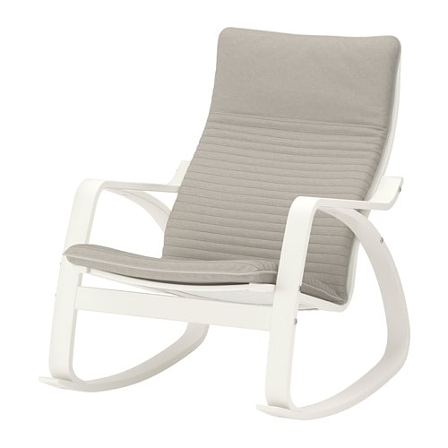 Po ng sedia a dondolo knisa beige chiaro ikea - Ikea sedia a dondolo ...