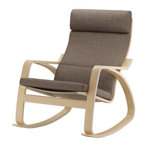 Po ng sedia a dondolo isunda marrone ikea - Ikea sedia dondolo ...