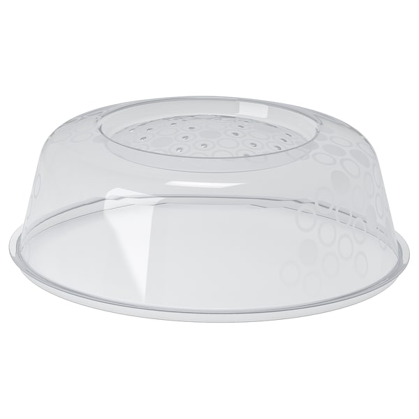 PRICKIG Coperchio per microonde, grigio, 26 cm