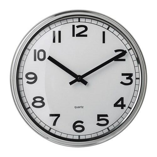 Pugg orologio da parete ikea for Orologio adesivo da parete ikea