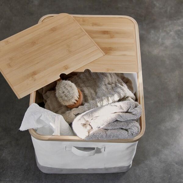 RABBLA Scatola con coperchio, 35x50x30 cm