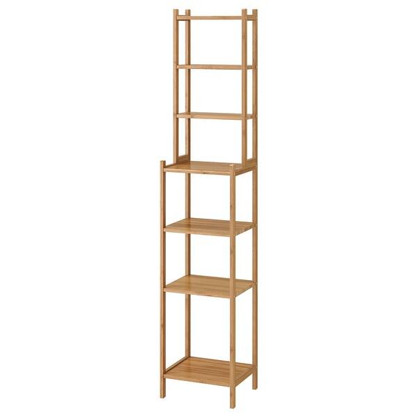 RÅGRUND scaffale bambù 33 cm 28 cm 163 cm
