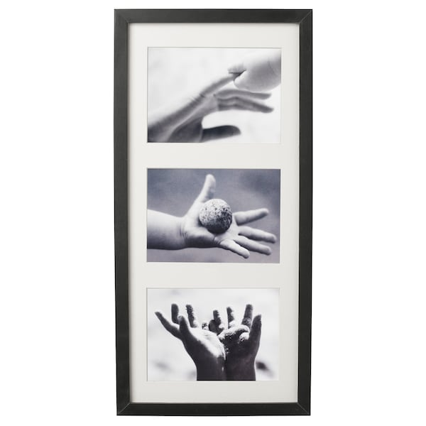 RIBBA Cornice, nero, 50x23 cm
