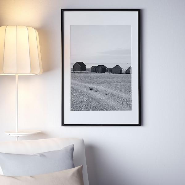 RIBBA Cornice, nero, 61x91 cm