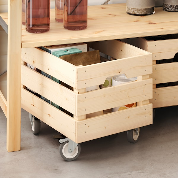 IKEA RILL Rotella orientabile con freno