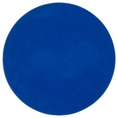 RISGÅRDE Tappeto, pelo corto, blu, 70 cm