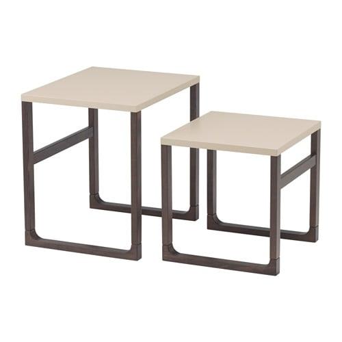 Rissna set di 2 tavolini ikea for Tavolini ikea 2017