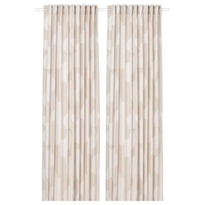 RÖDASK Tenda semioscurante, 2 teli, beige, 145x300 cm
