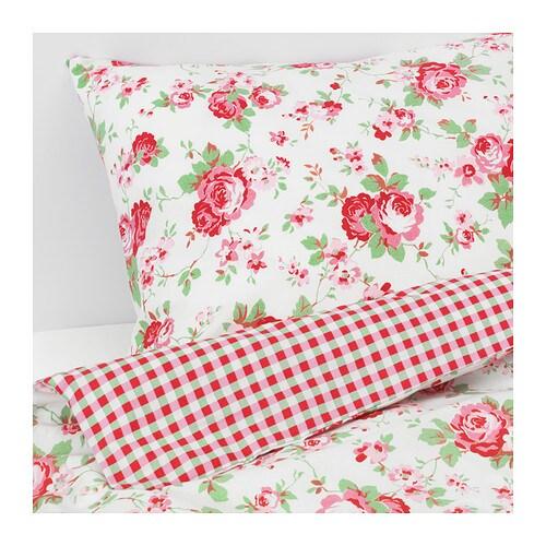 rosali copripiumino e 4 federe 240x220 50x80 cm ikea. Black Bedroom Furniture Sets. Home Design Ideas