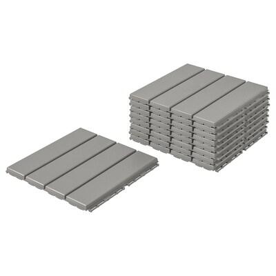 RUNNEN pedana da esterno grigio 0.81 m² 30 cm 30 cm 2 cm 0.09 m² 9 pezzi