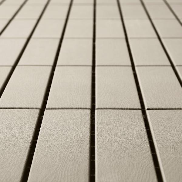 RUNNEN Pedana da esterno, beige, 0.81 m²