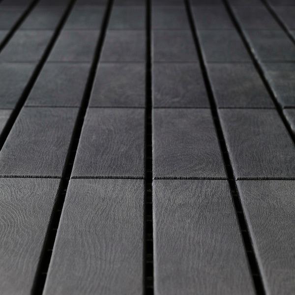 RUNNEN Pedana da esterno, grigio scuro, 0.81 m²