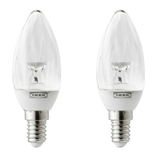 Ryet lampadina a led e14 100 lumen ikea for Lampade a led ikea