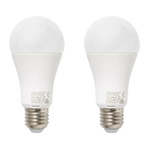 Ryet lampadina led e27 1000 lumen ikea for Lampadine led ikea