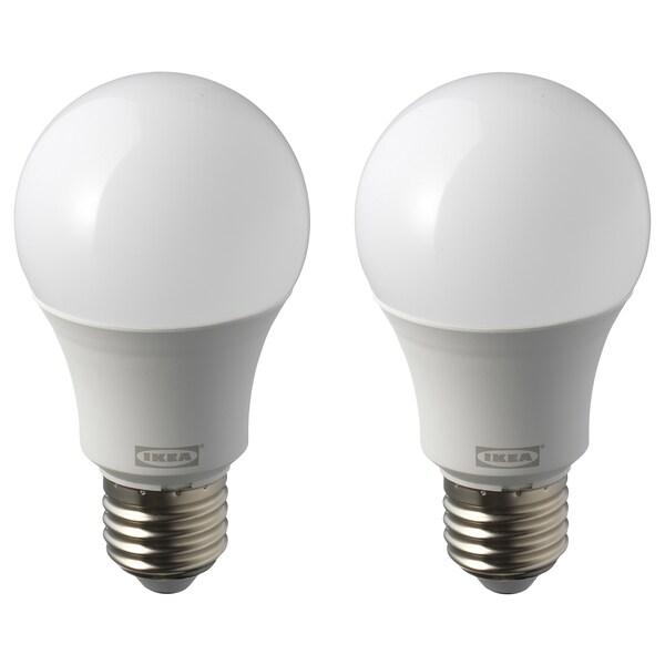 RYET lampadina LED E27 1000 lumen globo bianco opalino 5000 K 1000 lm 9 W 2 pezzi