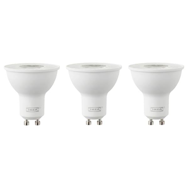 RYET lampadina LED GU10 400 lumen 2700 K 400 lm 5 W 3 pezzi