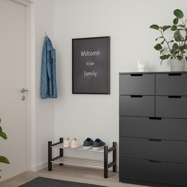 SÄVSTA Bacheca, nero, 50x70 cm