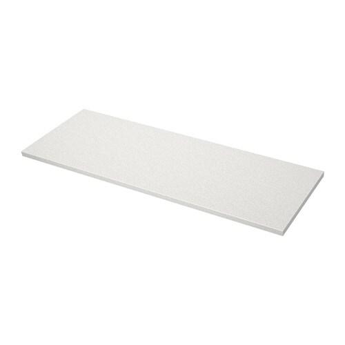 S ljan piano di lavoro bianco effetto pietra 186x3 8 cm for Piani di piano di soggiorno