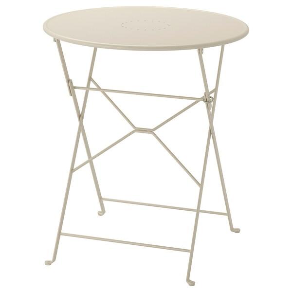 Ikea Tavoli Pieghevoli Da Cucina.Saltholmen Tavolo Da Giardino Pieghevole Beige Ikea