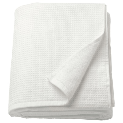 SALVIKEN Telo bagno, bianco, 100x150 cm