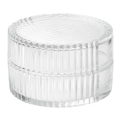 Sammanhang Scatola In Vetro Con Coperchio Ikea