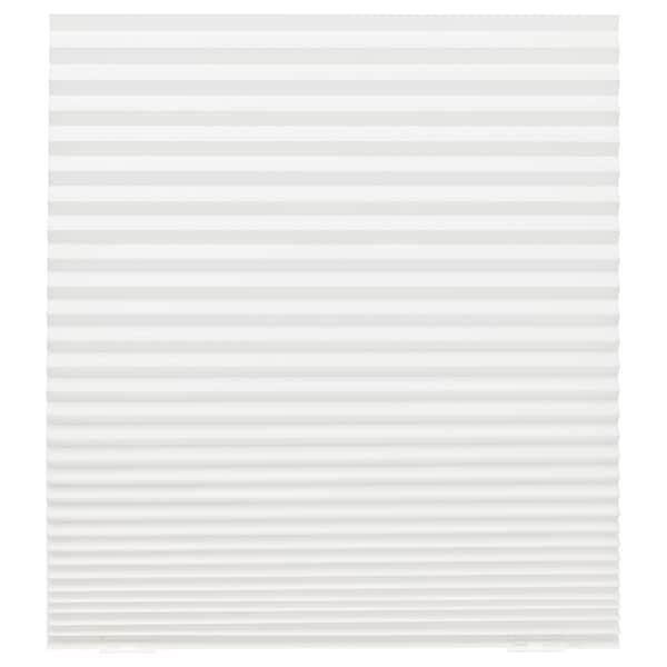 SCHOTTIS tenda plissettata bianco 190 cm 90 cm 1.71 m²