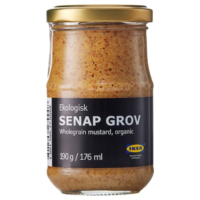 SENAP GROV senape con grani interi bio biologico 190 g