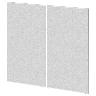 SIDORNA Paravento, grigio, 80x150 cm