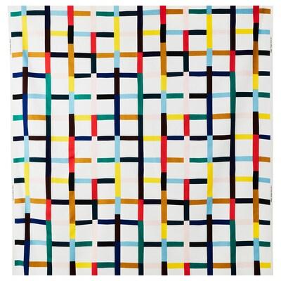 SIGRUNN tessuto a metraggio bianco/fantasia 230 g/m² 150 cm 81 cm 1.50 m²