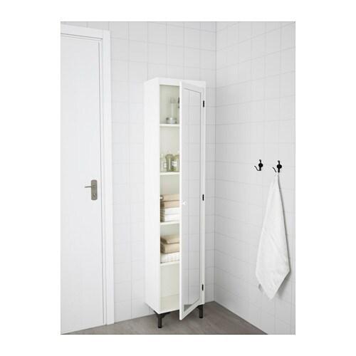 SILVERÅN Mobile alto con anta a specchio - IKEA