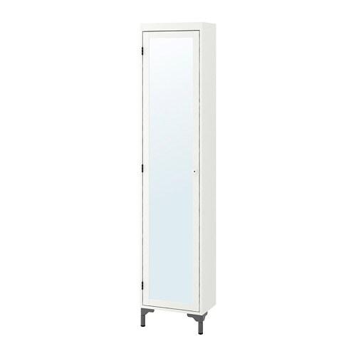 Silver n mobile alto con anta a specchio ikea for Vikedal anta specchio