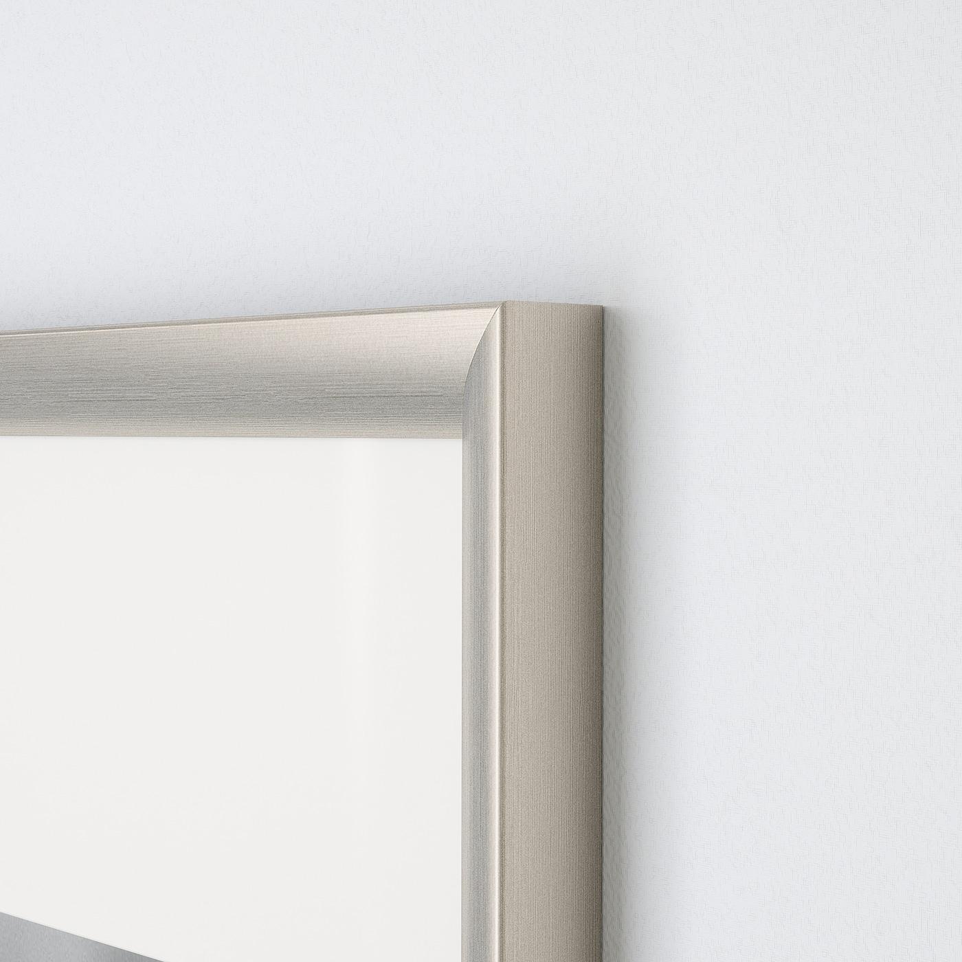 Silverhojden Cornice Color Argento 50x70 Cm Ikea It