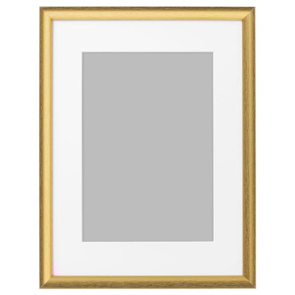 SILVERHÖJDEN Cornice, color oro, 30x40 cm