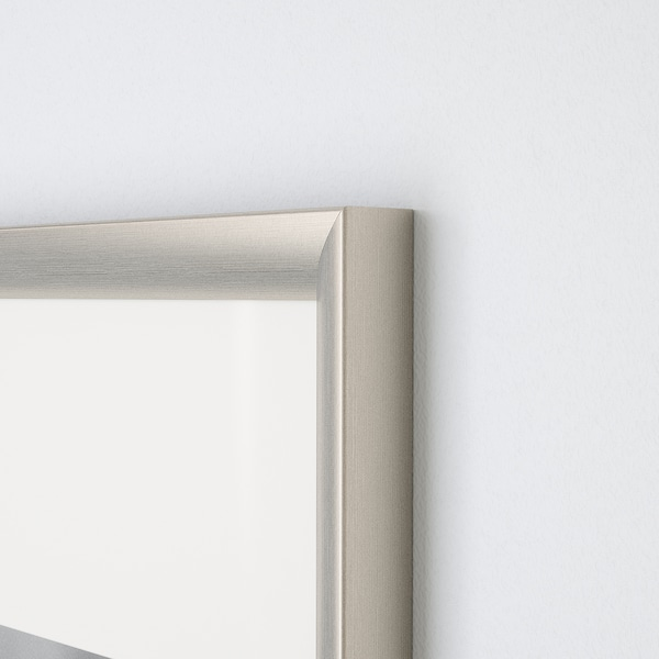 SILVERHÖJDEN cornice color argento 30 cm 40 cm 21 cm 30 cm 20 cm 29 cm 33 cm 43 cm