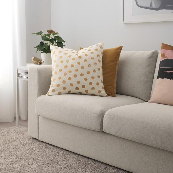 Cuscini Ikea Per Divano.Skaggort Fodera Per Cuscino Bianco Dorato 50x50 Cm Ikea It
