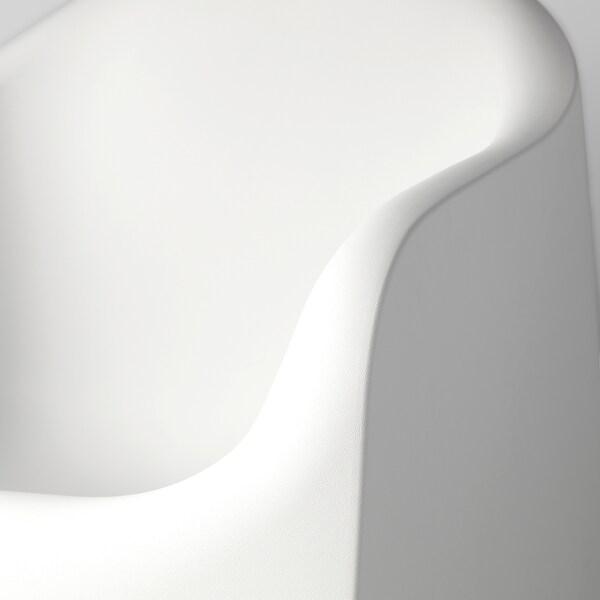 Poltrone Plastica Da Esterno.Skarpo Poltrona Da Giardino Bianco Ikea