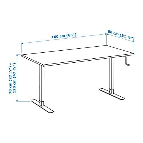 Awesome altezza tavolo cucina photos for Misure scrivania