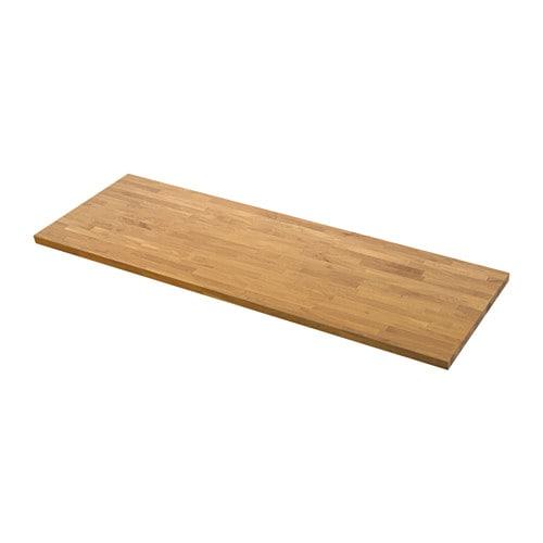 SKOGARP Piano di lavoro su misura - 63.6-125x4.0 cm - IKEA