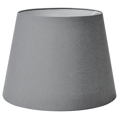 SKOTTORP Paralume, grigio, 42 cm