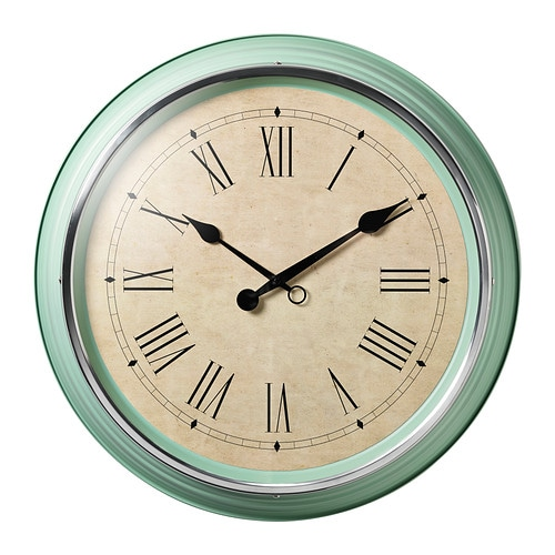 skovel orologio da parete ikea