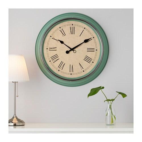 Orologio da parete verde for Orologio digitale da parete ikea